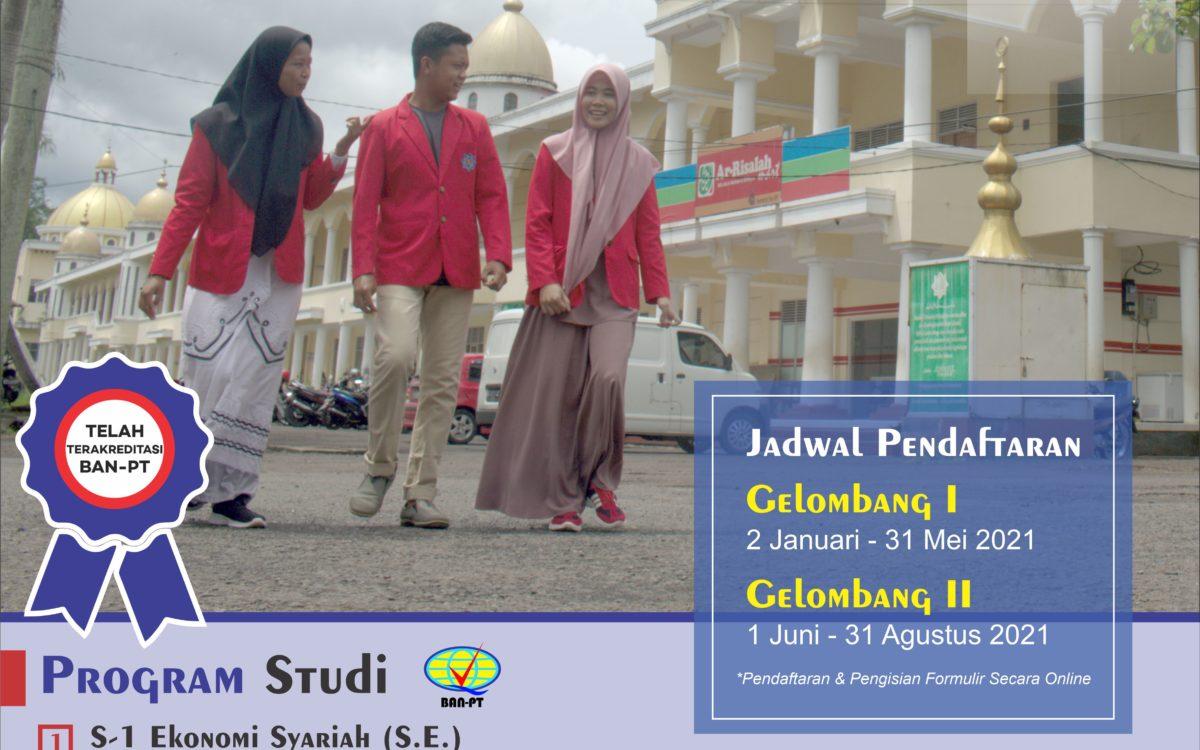 Penerimaan Mahasiswa Baru STEI Ar-Risalah Ciamis TA 2021/2022