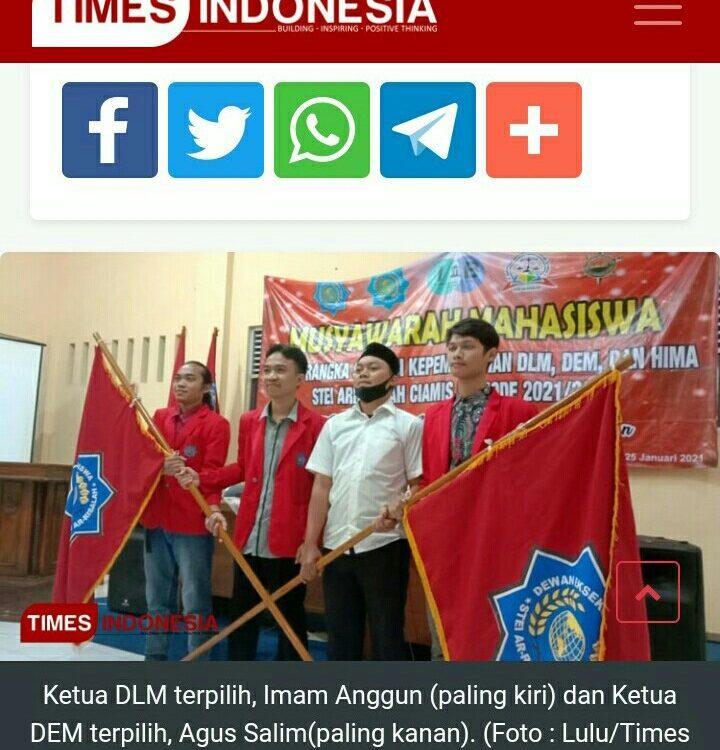 Gelar Musyawarah Mahasiswa, STEI Ar-Risalah Lahirkan Pemimpin Berkualitas